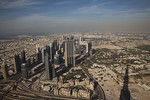 View from the Burj K